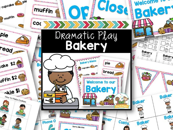 Dramatic Play Bakery