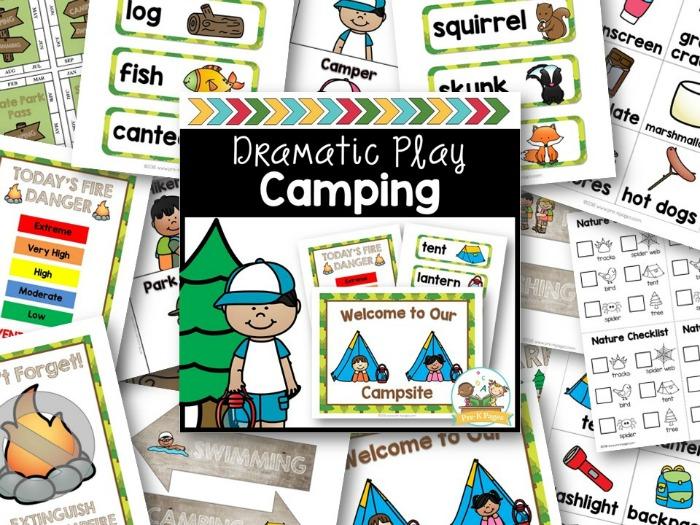 Dramatic Play Camping