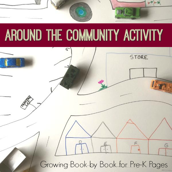 community literacy map activity pre-k