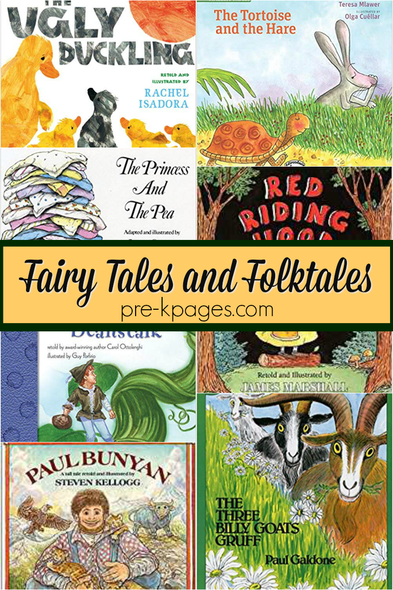 books fairy tales folktales preschool