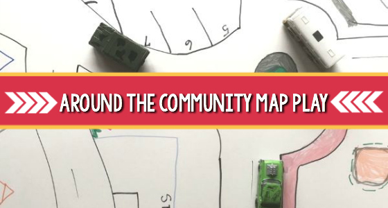 All Around the Community Literacy and Map Activity
