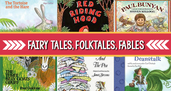 Preschool Books with Fairy Tales and Folktales