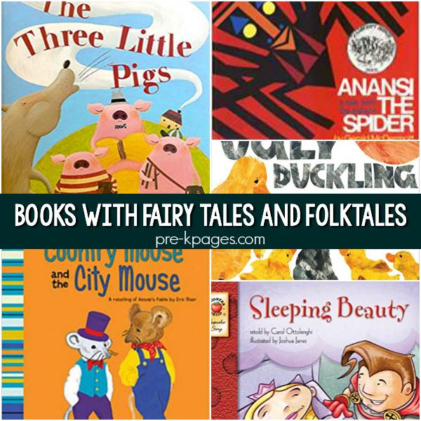 fairy tales folktales fables pre-k