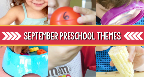 preschool themes lesson plans September
