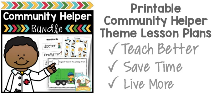 Community Helper Activities for Preschool