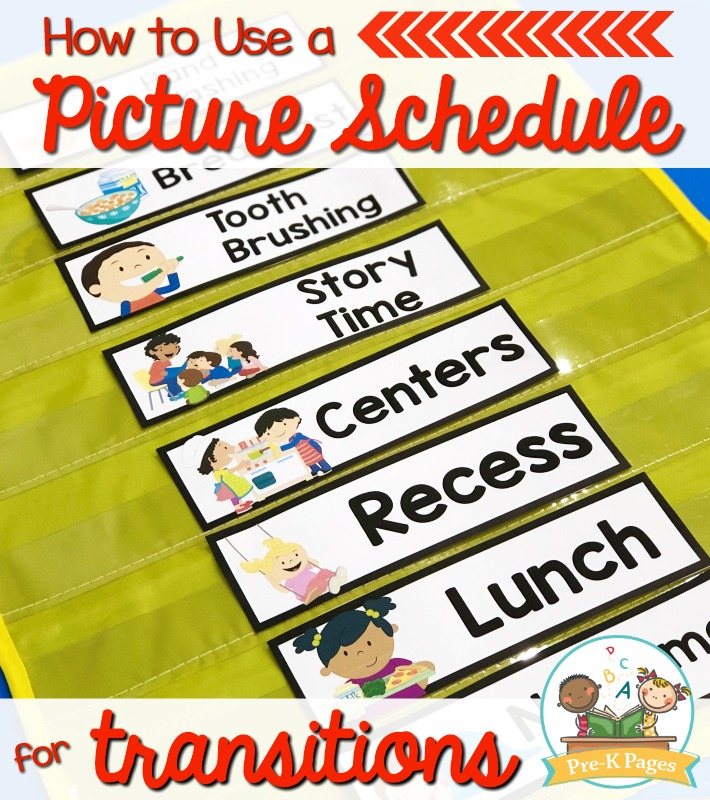 How to Use a Picture Schedule