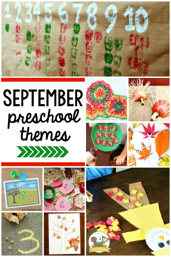 September Preschool Themes