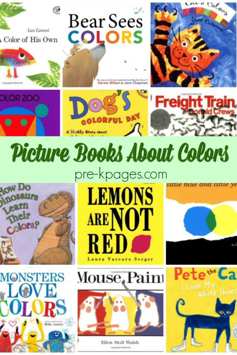 books about colors for preschool