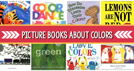 Picture Books About Colors for Preschoolers