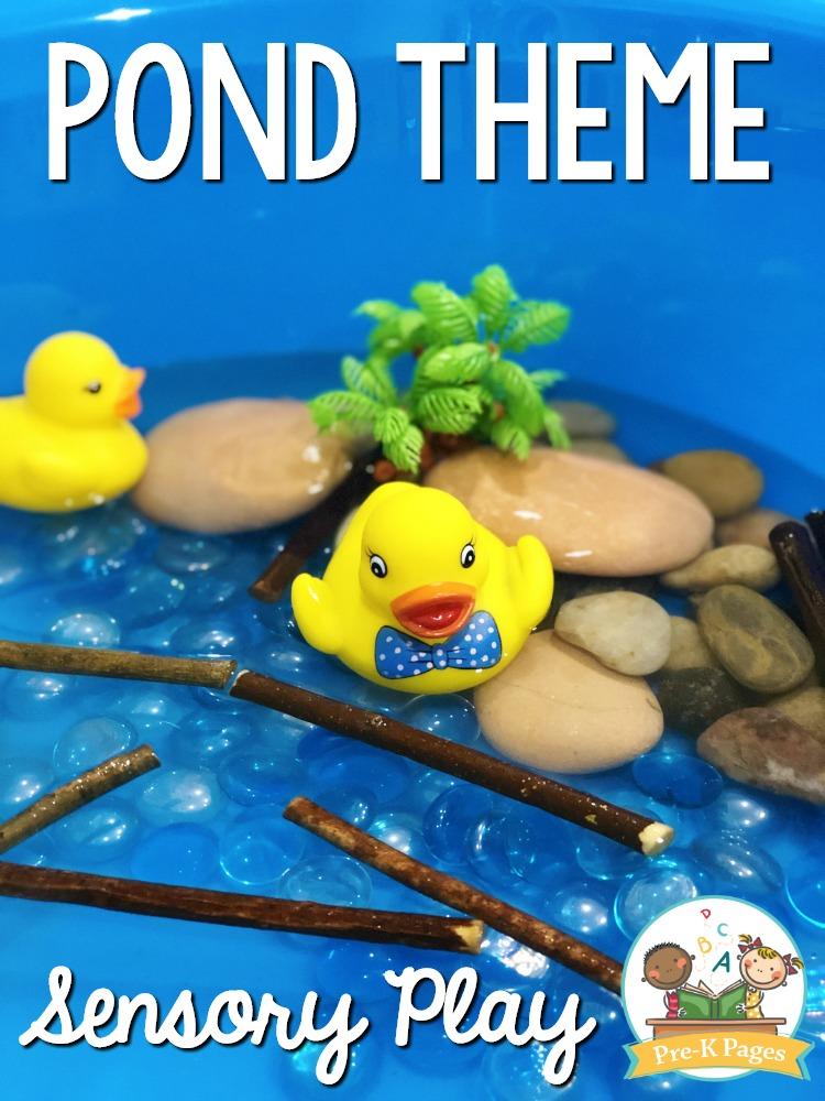 Duck Sensory Bin for Preschool