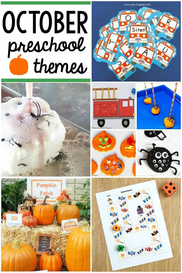 October Preschool Themes Fall