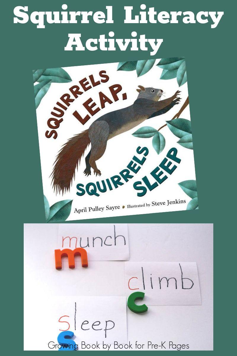 Fall book literacy activity