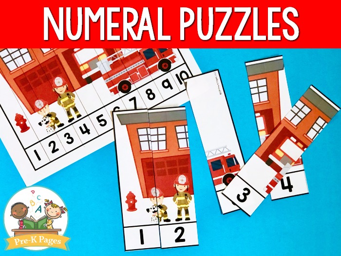 Fire Station Number Puzzles