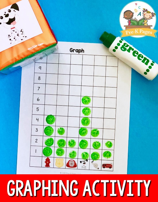 Fire Theme Graphing Activity