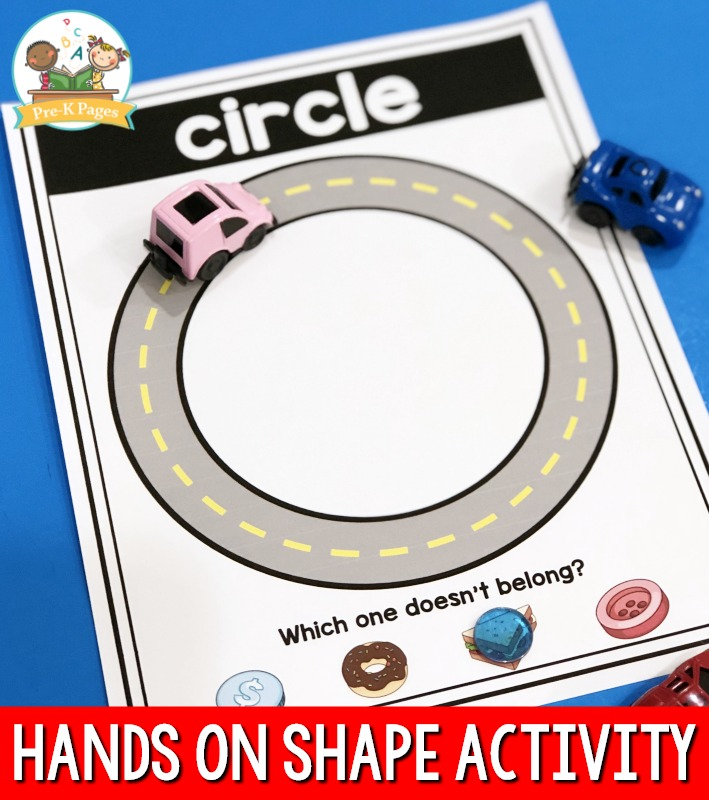 Hands on shape activity for preschool