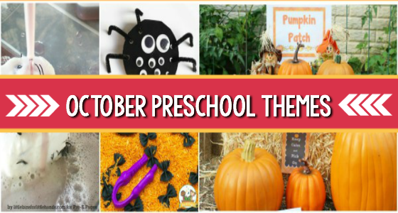 Preschool Themes for October Fall