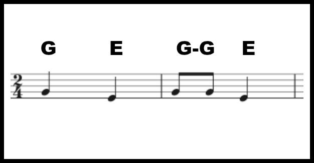 SOL-MI song score preschool