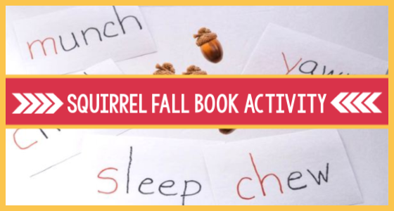 Squirrel Fall Book and Literacy Activity