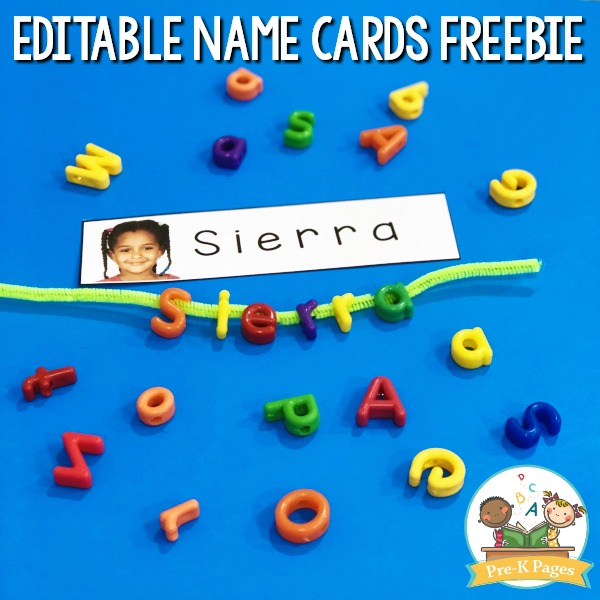 Ways to teach names with letter beads