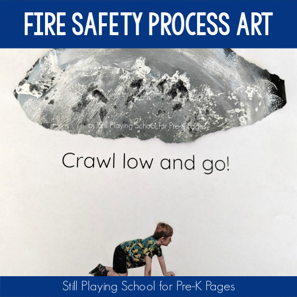 art fire safety pre-K