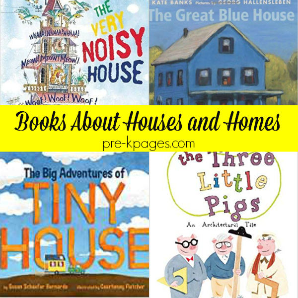 books about houses pre-k
