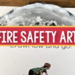 fire safety art pre-k