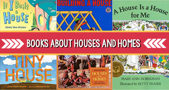 Preschool Books About Houses and Homes