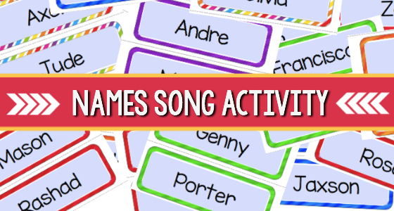 Music Activity Using Names