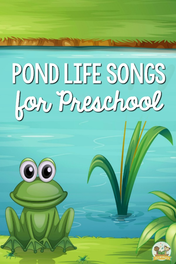 Best Pond Songs for Preschool