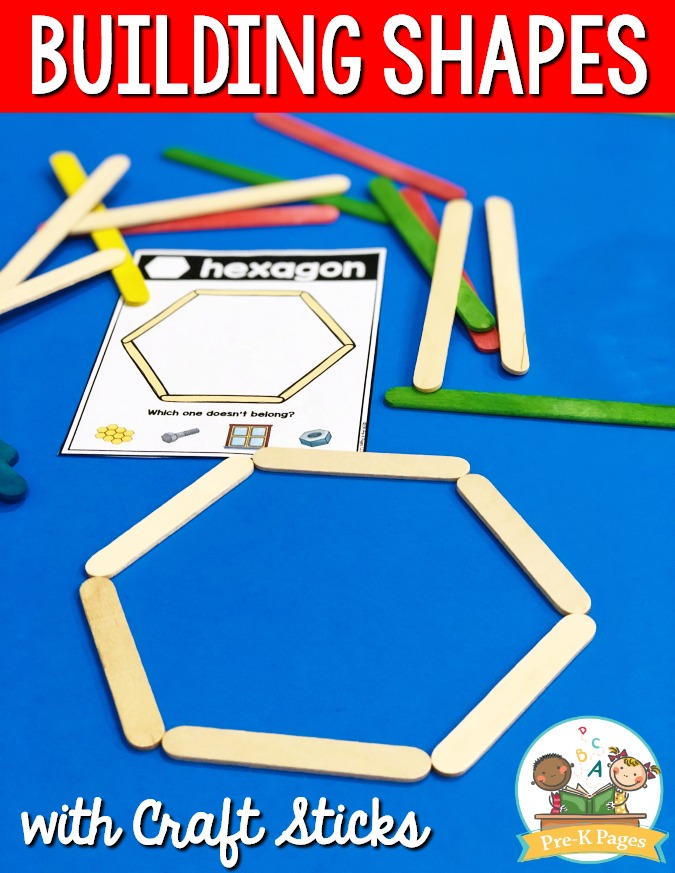 Building Shapes with Craft Sticks