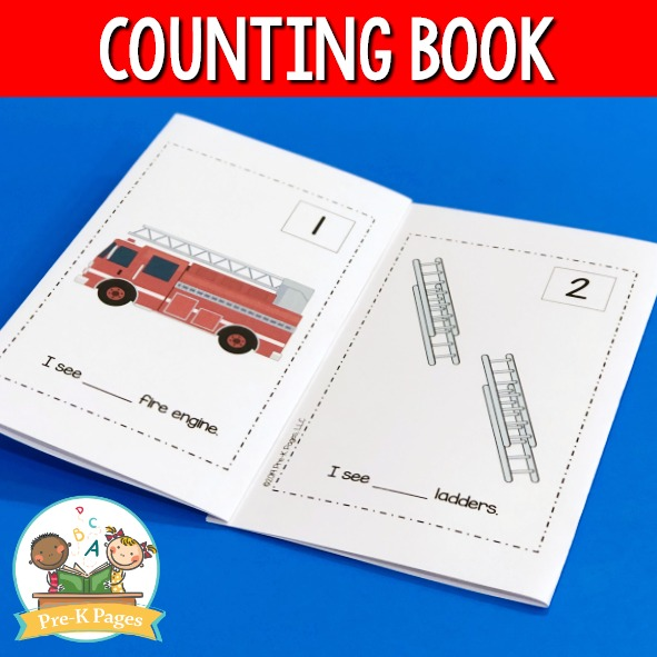 Fire Counting Book