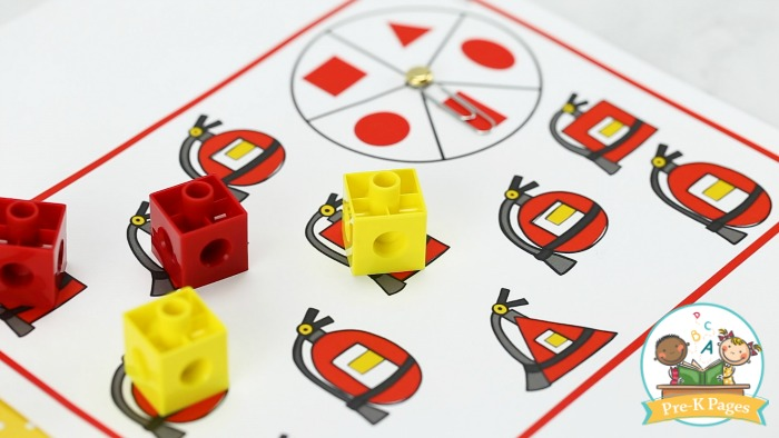 Fire Safety Shapes Game