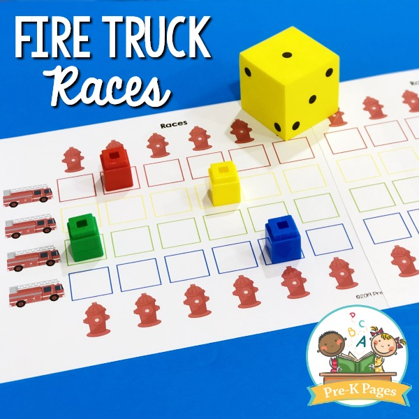 Fire Truck Races