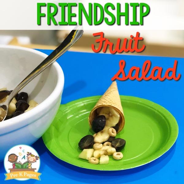 Friendship Salad Recipe for Preschool