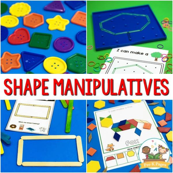 Shape Manipulatives for Preschool