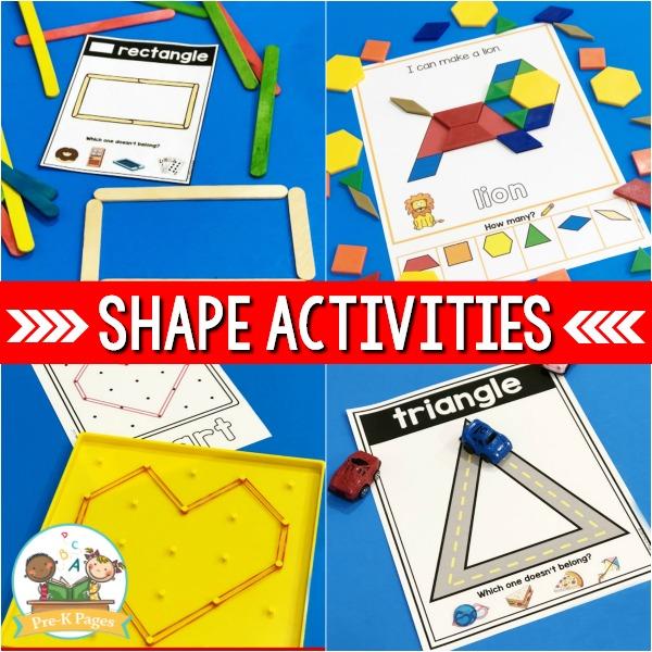 Teach Shapes in Preschool