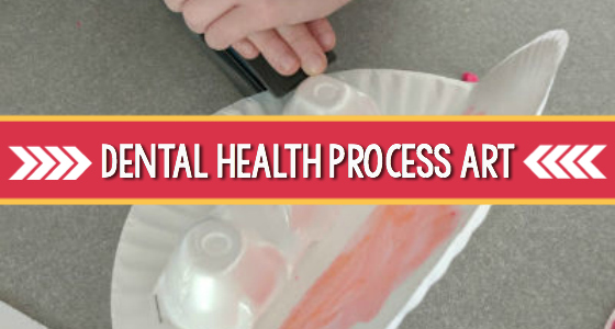 Dental Health Process Art Activity