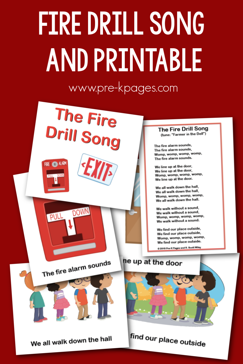 fire drill song for preschool
