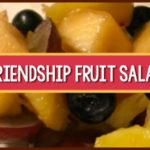 friendship salad for preschool