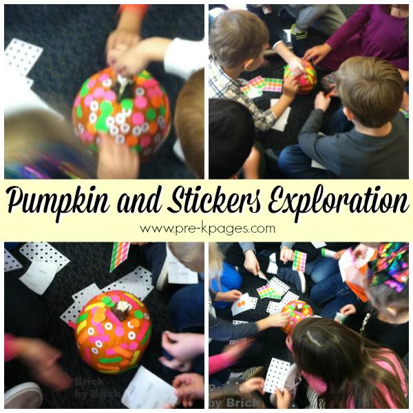 pumpkin exploration Pre-K