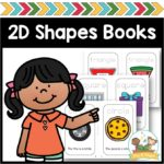 2D Shapes Printable Books for Preschool and Pre-K