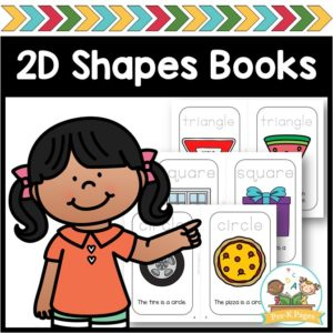 2D Shapes Books