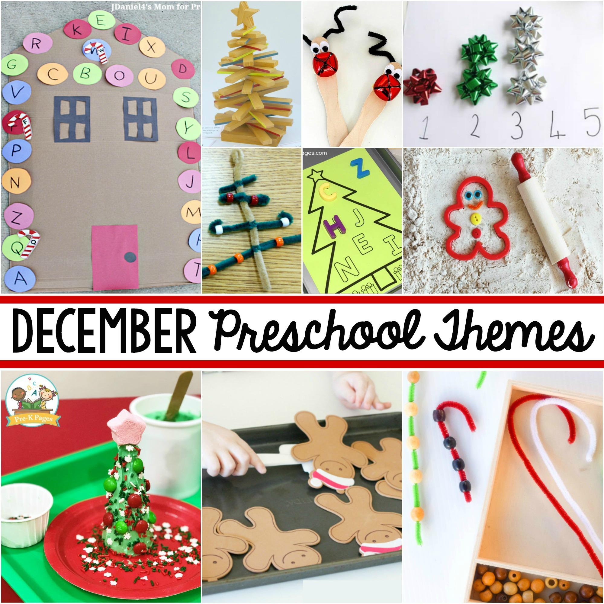 curriculum themes December Pre-K