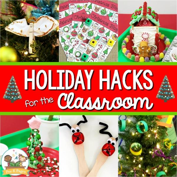 Holiday Hacks for Preschool Teachers