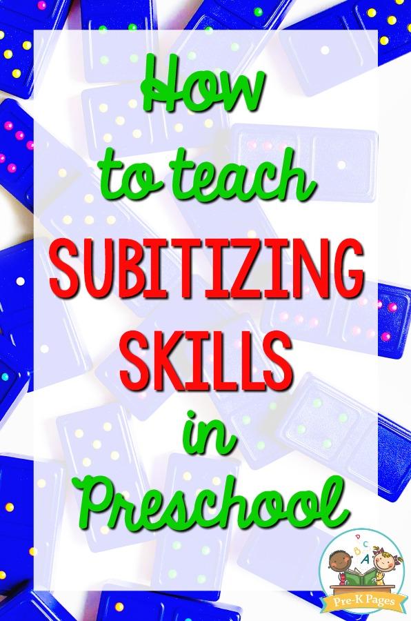 How to Teach Subitizing Skills
