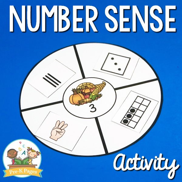 Thanksgiving Number Sense Activity