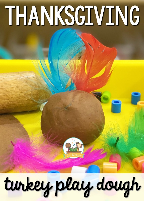 Thanksgiving Turkey Play Dough