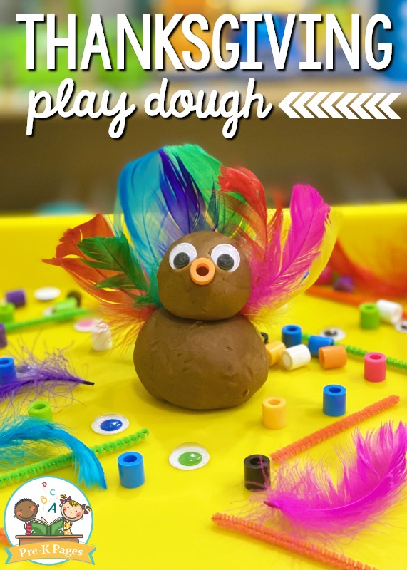 Turkey Play Dough