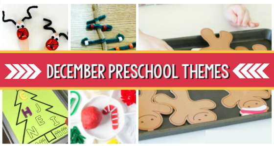 december themes preschool