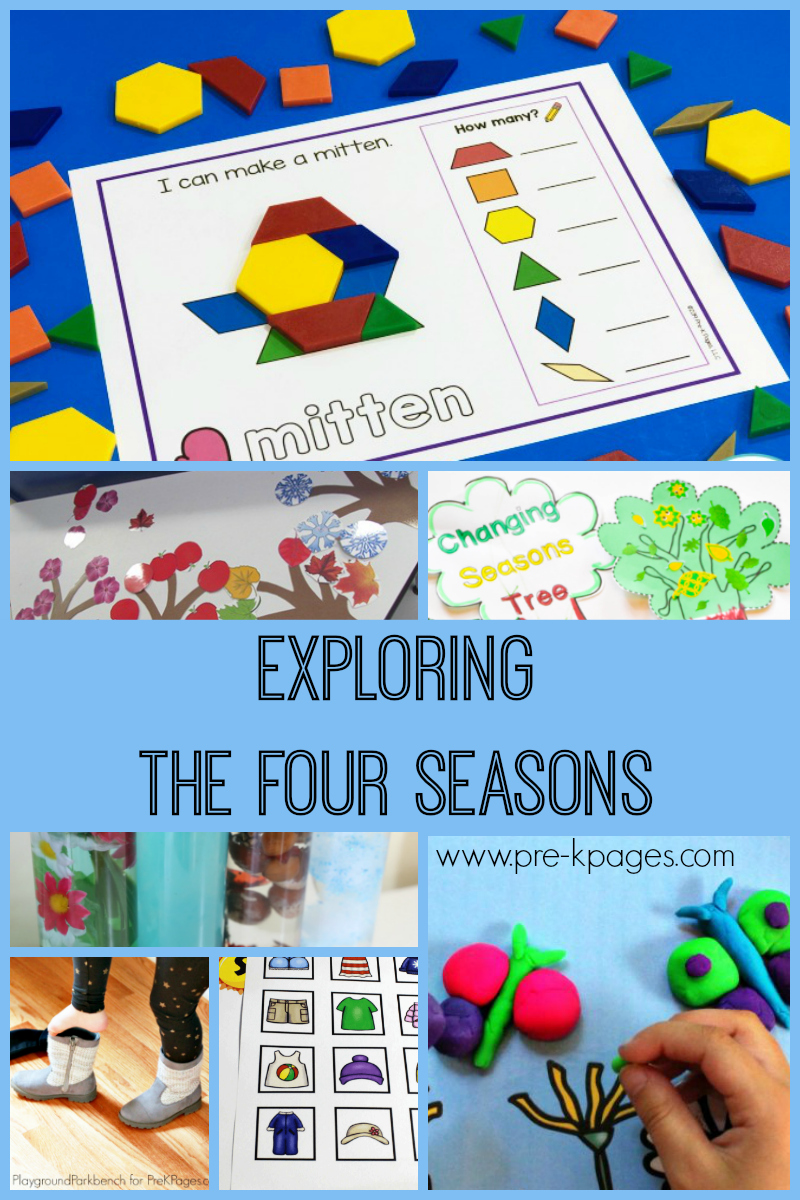 four seasons activities for pre-K